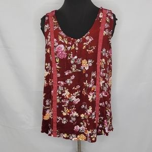 Suzanne Betro Floral Summer Tank top